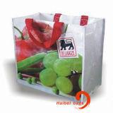 Bolsos tejidos PP reutilizables, bolsos de totalizador, bolsos de compras