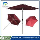 아연 합금 경사 2m 우산 - Sy2013를 가진 180g 폴리에스테