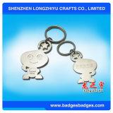 カスタム流行動物の金属Keychain、反射Keychain