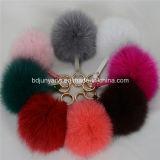 Nuovi accessori Keychain del sacchetto della sfera della pelliccia di Fox