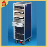 4 Räder Inflight Airline Aircraft Meal Cart für Airplane