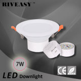 7W 3.5 luz del proyector LED de la iluminación de la pulgada LED Downlight