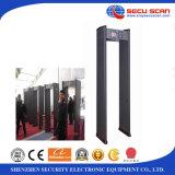Het frame van de deur metaaldetector bij-IIIC metaaldetectors voor museum/gevangenis/hotel/luchthavengebruik