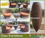 Delicate Wohnung Weaving Rattan-Möbel Kaffeetisch und Stuhl für Außen