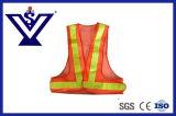 Het hoge Vest van de Veiligheid van de Politie van het Zicht Weerspiegelende (syfgbx-10V)