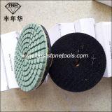 Vh-8 마술 테이프 (80/100/125mm)를 가진 닦는 패드를 위한 고무 방조자 패드