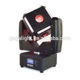 Powe elevado 6X12W RGBW 4 em 1 luz principal movente da esfera do cubo do diodo emissor de luz ou em luz do disco