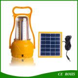 가득 차있는 기능 케이블에 재충전용 태양 LED 야영 손전등 태양 긴급 램프 USB