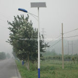 5m 6m 20W 30W СИД Pure White Solar Street Light