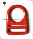 OEM Gesmede D-vormige ringen van het Koolstofstaal voor Schokbrekend Sleutelkoord