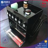 중국 공장 주문 색깔 아크릴 자전 립스틱 진열대