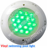 piscina Light di 12V IP68 Nicheless Plastic LED Underwater Light per Concrete, Fiberglass, Vinyl Liner Pool