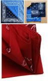 Bandana 100% della sciarpa del Wristband di Paisley Headwear del cotone