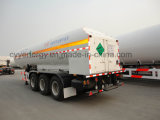 ASMEの中国LNG Liquid Oxygen Tank Car Semi Trailer