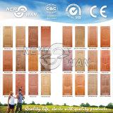 Pelle di legno del portello dell'impiallacciatura personalizzata ISO/SGS