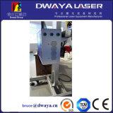 Ручка 10W кольца летает машина маркировки лазера волокна с трубопроводом