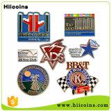 Kundenspezifisches Großhandelsdecklack-Metallreverspin-Abzeichen