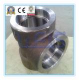 Instalación de tuberías de acero inoxidable de 316 tes