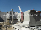 55kws/75HP Wire Saw Machine per Granite Marble Sandstone Onyx Travertine Stone Quarrying