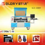 Il ricamo automatizzato contrassegna la taglierina del laser