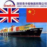 Frete de oceano do recipiente de FCL de Shenzhen a Southampton, Reino Unido