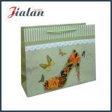 Bolso de compras de papel impreso 4c 3D del OEM de la decoración de los Alto-Talones