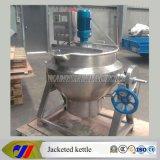 Un tipo semiautomatico da 150 litri che cucina caldaia con l'agitatore