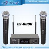 Micrófono de frecuencia fija de la frecuencia ultraelevada del canal audio sin hilos del micrófono 2