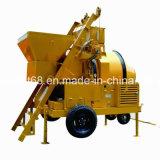 500L Diesel mezclador de concreto con polipasto de deslizamiento de la tolva (RDCM500-16DHS)