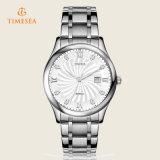 Relojes impermeables de lujo 72217 de los hombres de negocios de la marca de fábrica de Timesea