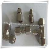 Installazioni di tubo doppie del puntale dell'acciaio inossidabile
