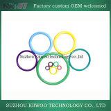 De in het groot Duurzame Kleurrijke O-ring van het Silicone Qualtity