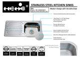 Oberseite-Montierungs-einzelne Filterglocke-Küche-Wanne des Edelstahl-15X31-1/2 mit Abfluss-Vorstand