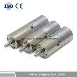 motores elétricos da engrenagem de 12V 24mm baixos RPM