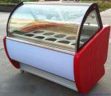 熱い販売の商業アイスクリームのショーケースの陳列ケース(TK-16)