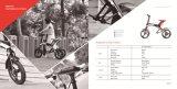 2017 nuovo modello Robstep X1 che piega la E-Bici elettrica del motorino
