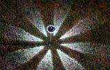 Lampe solaire colorée de diamant de DEL (JG696)