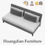 El último sofá de la tela del diseño de la base de sofá de los muebles de la sala de estar (HD457)