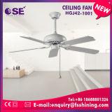 Nieuw Product 5 de Witte Decoratieve Plafondventilator van het Blad