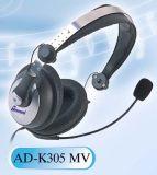 Hoofdtelefoon met Microfoon - advertentie-K305