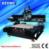 Высекать и гравировальный станок CNC передачи точности винта шарика Ezletter двойной с Глаз-Отрезали (GR-101ATC)