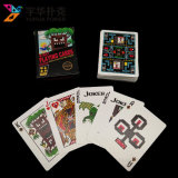 Serviço de impressão profissional da fábrica ambos os cartões de jogo feitos sob encomenda dos lados