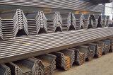 Mucchio d'acciaio 400X125mm della lamiera di acciaio dell'accatastamento di buona qualità Sy295
