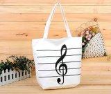 Segeltuch-Handtaschen-oder Schultertote-Beutel für das Einkaufen und Förderung