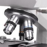 De dubbele Hoofd Biologische Microscoop van Xsz 107bn met LEIDEN Licht