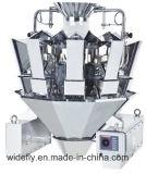 Reis-Mehlkloß, der elektronische wiegende Schuppe packt