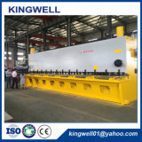 El CNC/la guillotina hidráulica del Nc pela la máquina, espesor hidráulico de la cortadora que pela 16m m