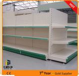 Perforiertes Panel-Metallsupermarkt-Gondel-Regal