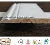 Modanatura di legno solido personalizzato della parte superiore