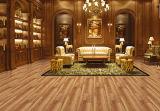 Azulejo de suelo esmaltado ceniza natural de la porcelana de la madera del SGS